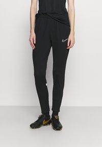 Nike Performance - PANT - Pantalon de survêtement - black/white - 0
