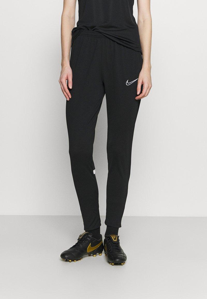 Nike Performance - PANT - Pantalon de survêtement - black/white
