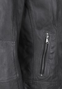7eleven - CONA - Leather jacket - anthra - 4