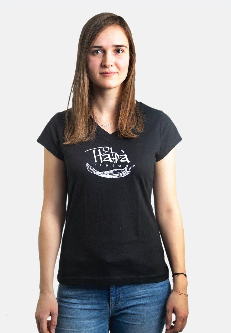 Platea - Print T-shirt - schwarz