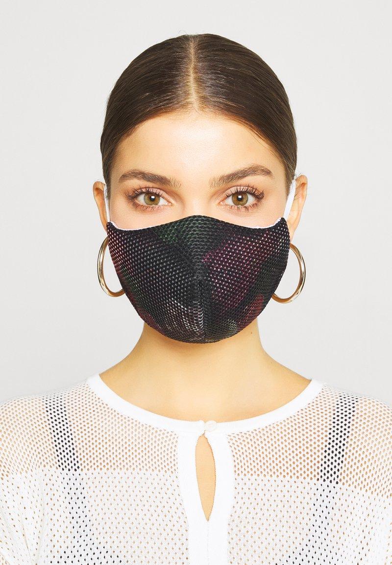 Jost - COMMUNITY MASK 2 PACK - Community mask - black/light pink/pink