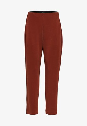 SLFTENNY MW ANKLE PANT - Trousers - brown
