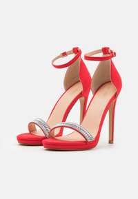 Even&Odd - Sandales à talons hauts - red - 2
