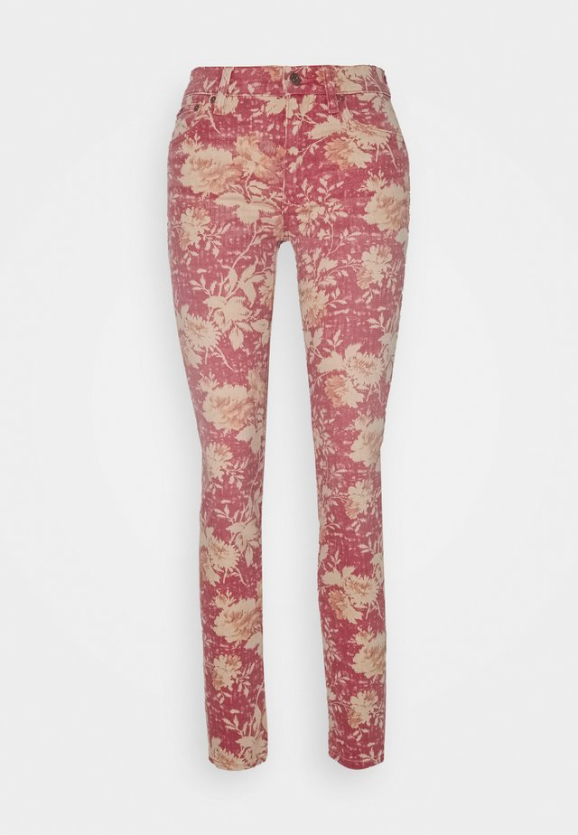 TOMP  - Jeans Skinny Fit - red