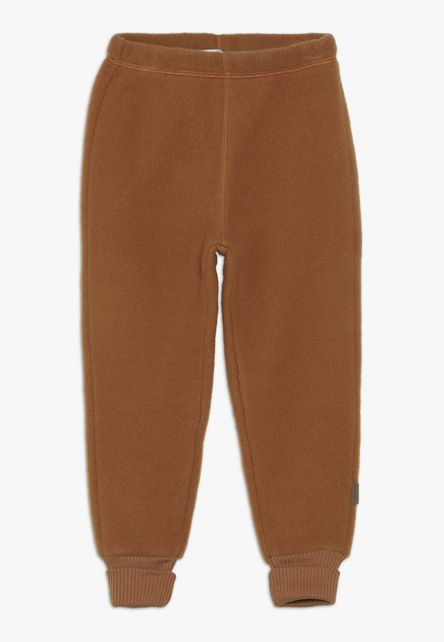 PANTS - Pantalon de survêtement - leather brown