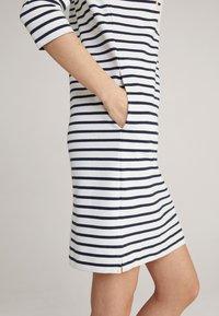 JOOP! - Jersey dress - navy/weiß - 4