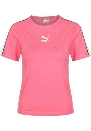 TOP CLASSICS TIGHT W - Print T-shirt - bubblegum