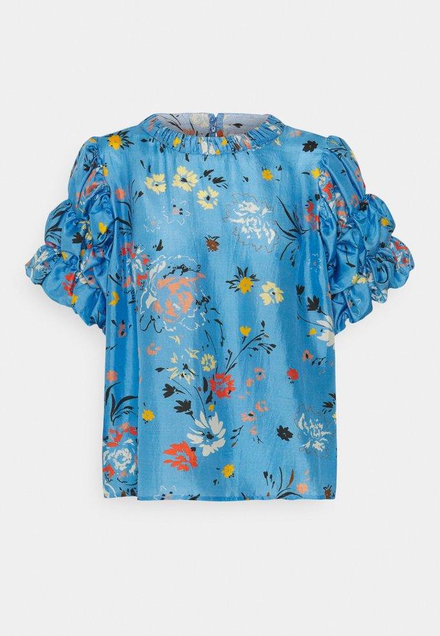 SAVANNA - T-shirt print - garden topaz