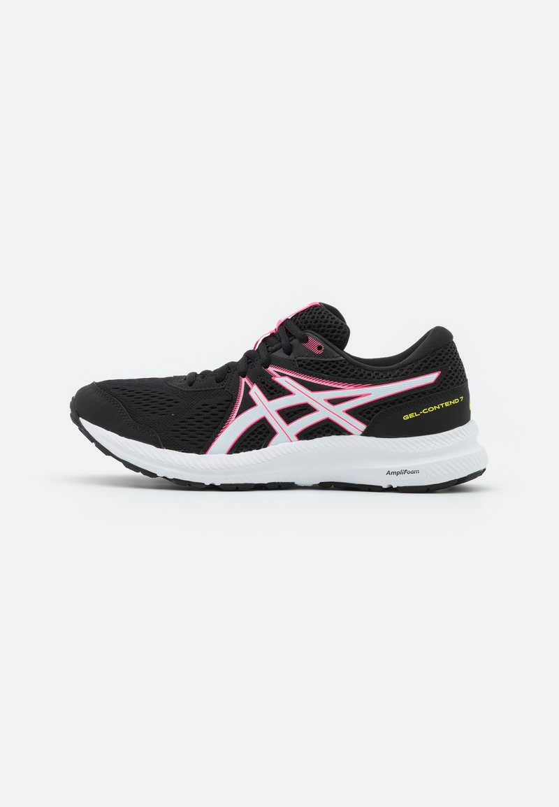 ASICS - GEL CONTEND 7 - Neutral running shoes - black/hot pink