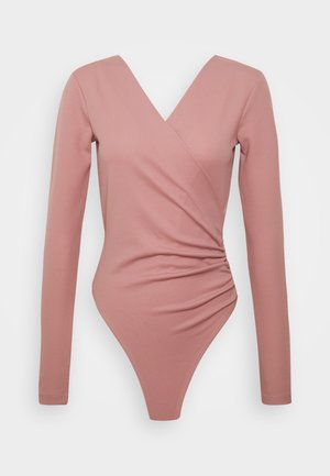 LONG SLEEVE - Long sleeved top - dusty dark pink