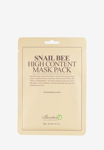 SNAIL BEE HIGH CONTENT MASK 2 PACK - Face mask - neutral
