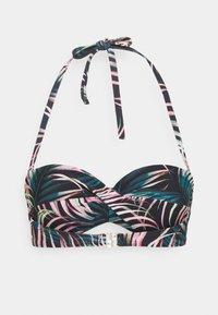 LASCANA - WIRE-BANDEAU - Bikini top - black - 7