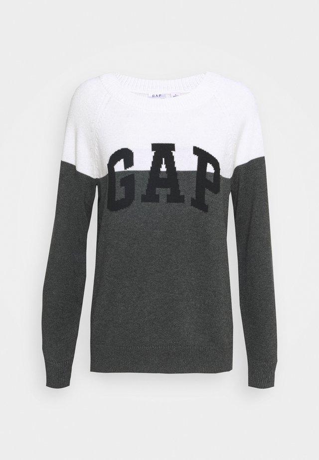 V-GAP ARCH - Jumper - charcoal