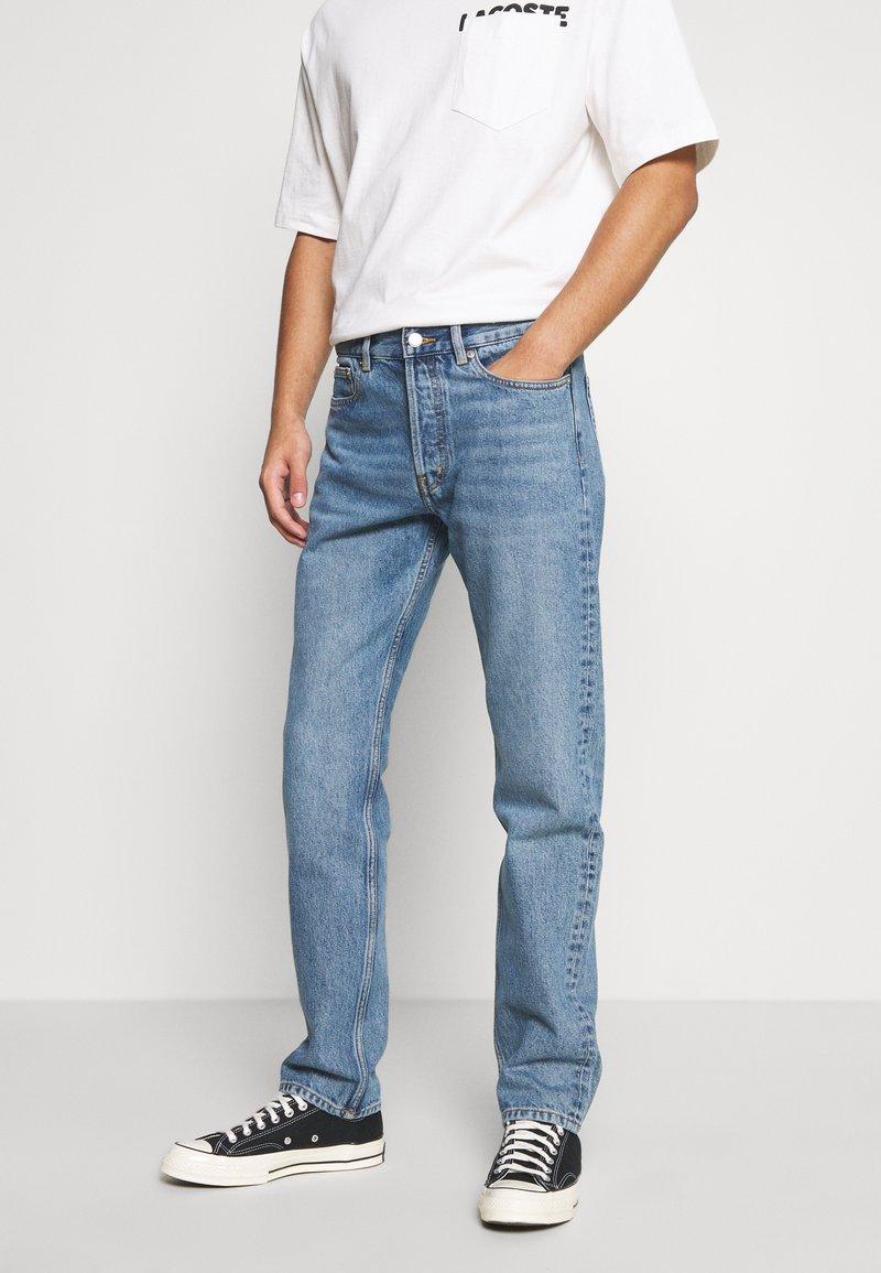 ARKET - Slim fit jeans - blue medium dusty