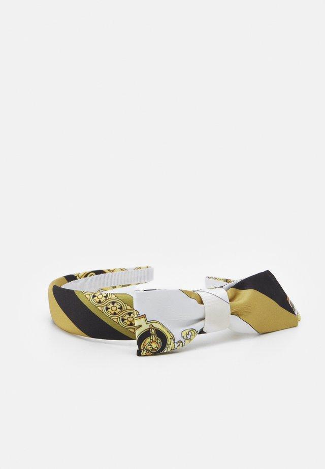 HAIR BAND HERITAGE - Haar-Styling-Accessoires - white/gold/kaki
