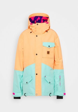 1080 WOMEN'S JACKET  - Skijacke - mint/peach
