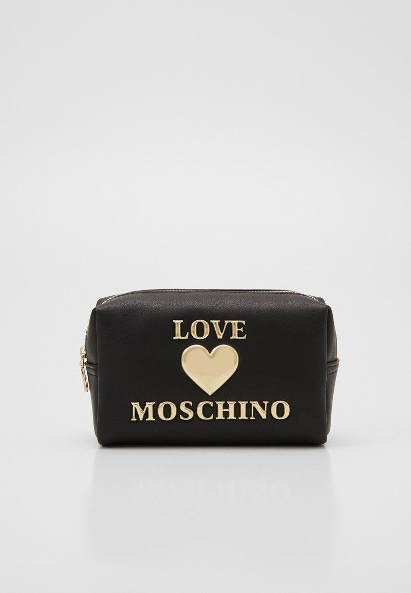 Love Moschino - BUSTINA - Trousse - black