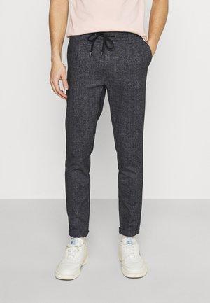 NEW EBERLEIN EXCLUSIV - Trousers - mottled dark blue