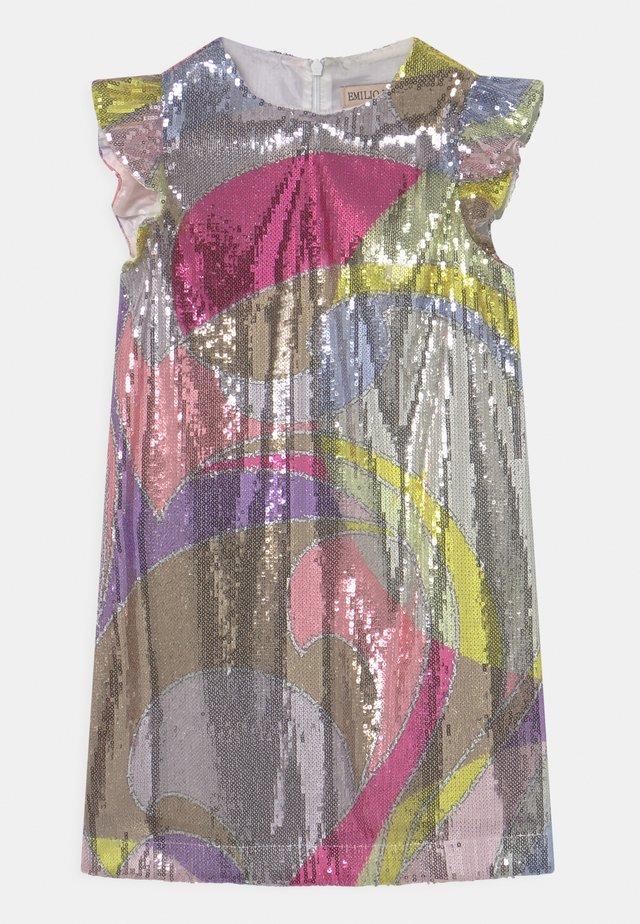 Robe de soirée - giallo/viola