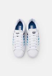 K-SWISS - COURT WINSTON - Trainers - white/blue gradient - 3