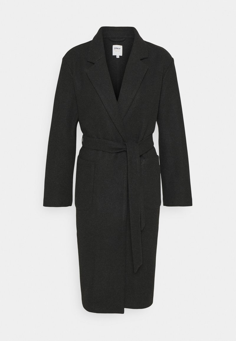 ONLY - Classic coat - dark grey melange