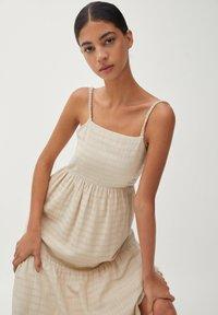 PULL&BEAR - Maxi dress - beige - 3