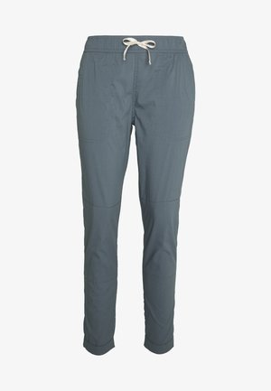 JOY PANT - Spodnie materiałowe - dark slate