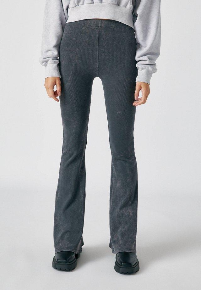 Broek - mottled dark grey