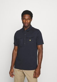 Lyle & Scott - TWO POCKET RELAXED FIT - Polo shirt - dark navy - 0