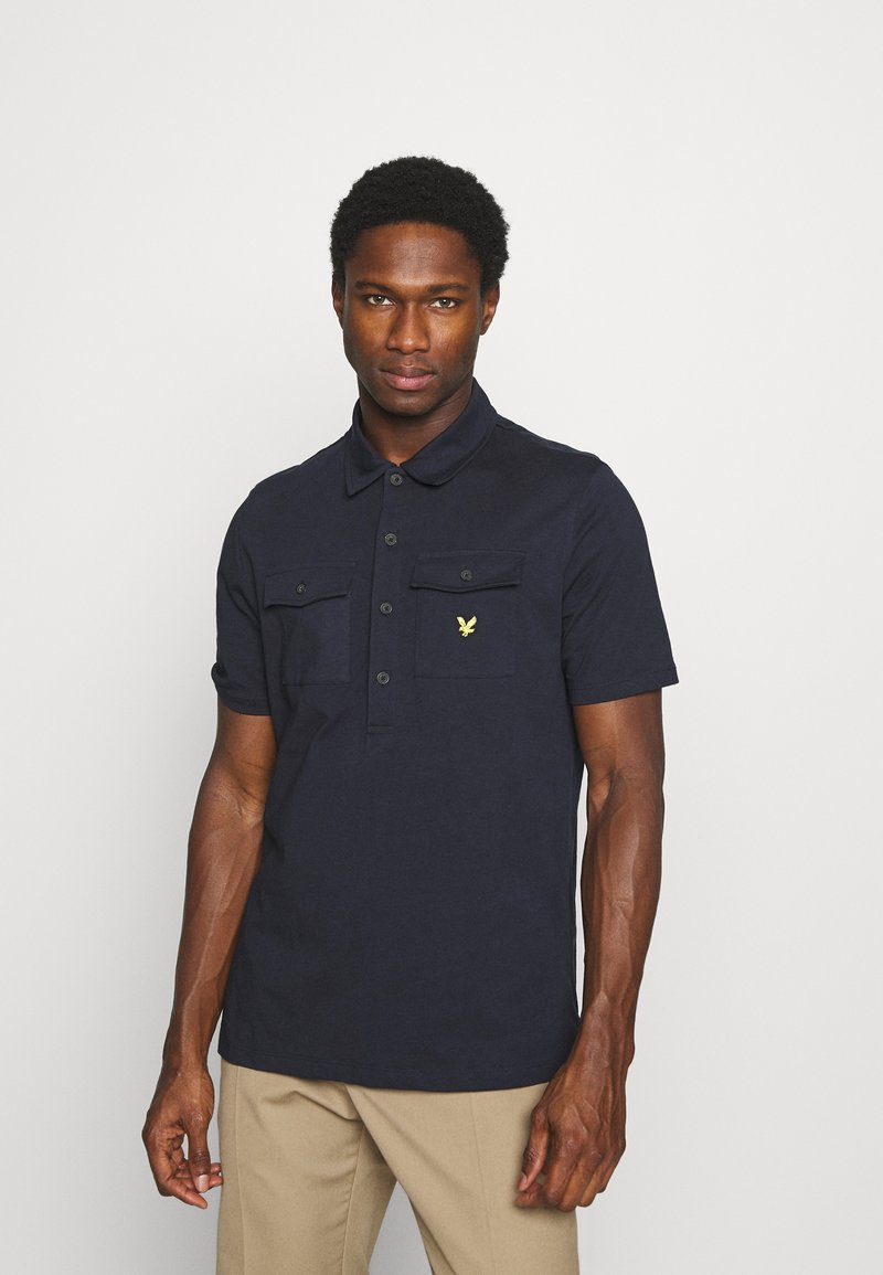 Lyle & Scott - TWO POCKET RELAXED FIT - Polo shirt - dark navy