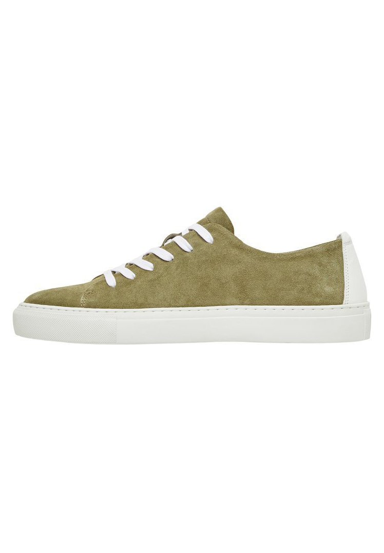 Bianco - Sneakers basse - olive