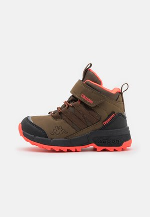 THABO TEX UNISEX - Hiking shoes - brown/coral