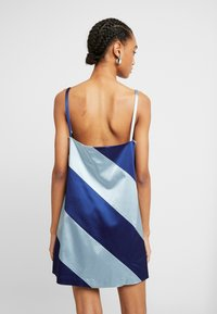 House of Holland - MUTED PANELLED SLIT DRESS - Day dress - blue/navy - 3