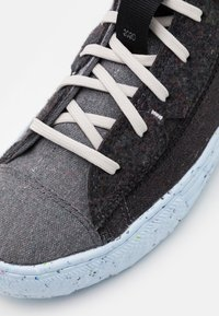 Converse - CHUCK TAYLOR ALL STAR CRATER - High-top trainers - black/dark grey/light grey - 5