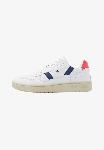 RAWW - Sneakers laag - white/navy/red