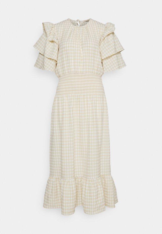 Maxi dress - creme/white