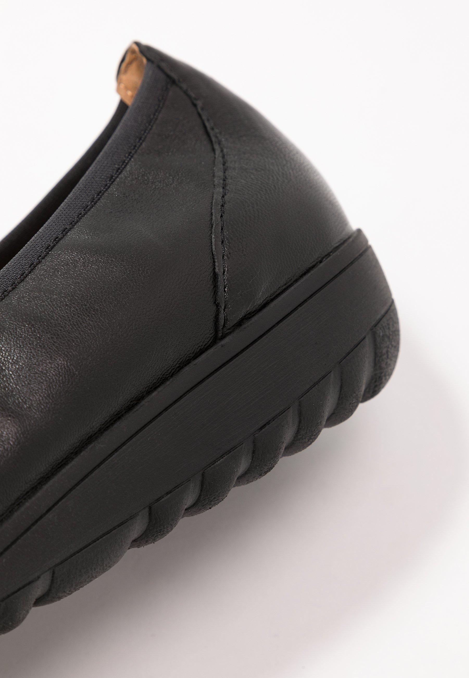 Caprice Ballerine - black - Scarpe da donna Freddo