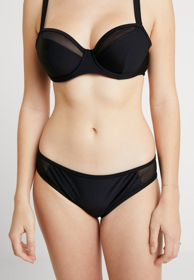 SHEER CLASS MINI BRIEF - Bikinialaosa - black