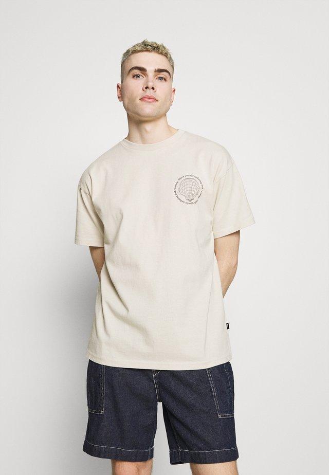 TROOPER TEE - T-shirt med print - off white