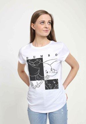 DISNEY CLASSICS DUMBO  - Print T-shirt - white