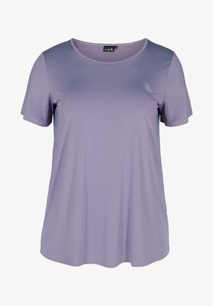 T-shirt basique - purple