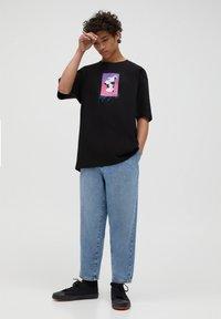 PULL&BEAR - T-shirts print - black - 1