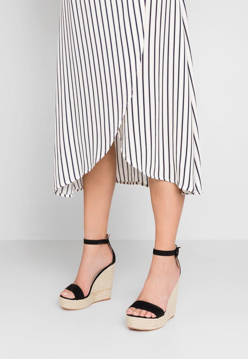 Glamorous - Sandály na vysokém podpatku - black