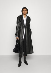 Gina Tricot - NORA COAT - Trenchcoat - black - 1