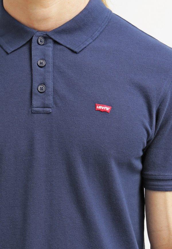 Levi's® HOUSEMARK - Koszulka polo - dress blue/granatowy Odzież Męska XLKI