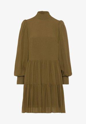 Košilové šaty - beech