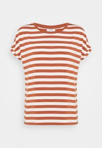 Marc O'Polo DENIM - T-shirt print - multi/cinnamon brown - 0