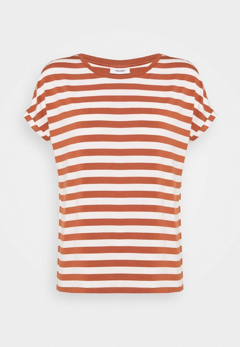 Marc O'Polo DENIM - T-shirt print - multi/cinnamon brown