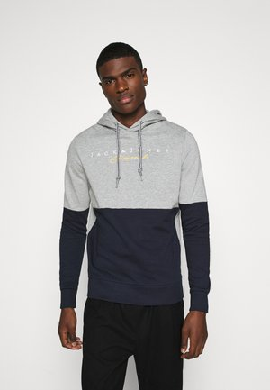 JORTRAILER HOOD - Hoodie - light grey melange