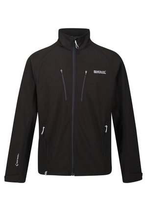 NIELSON - Soft shell jacket - black